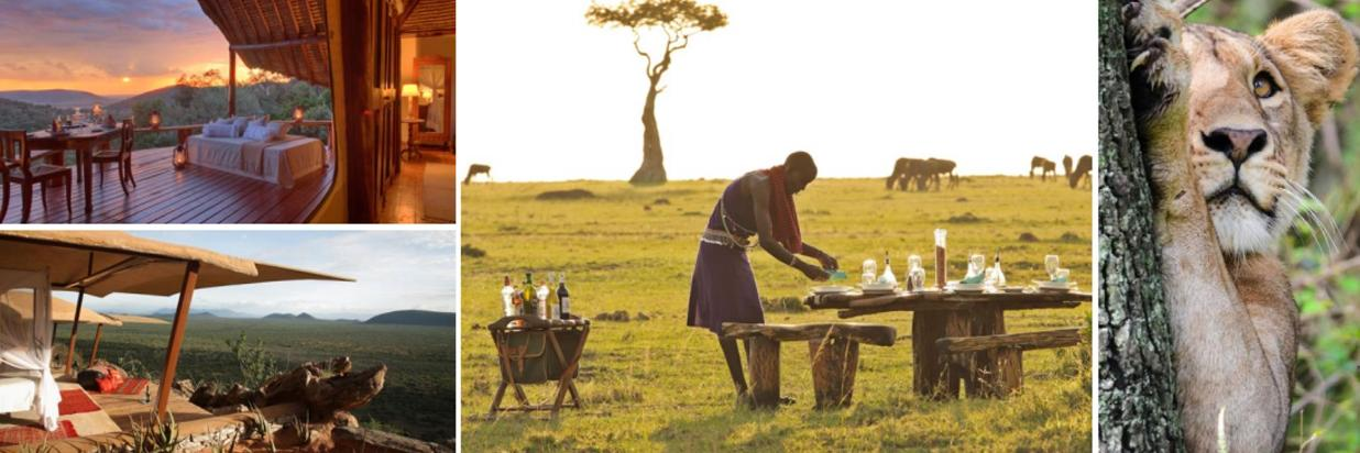 6 nights for 5 samburu & mara