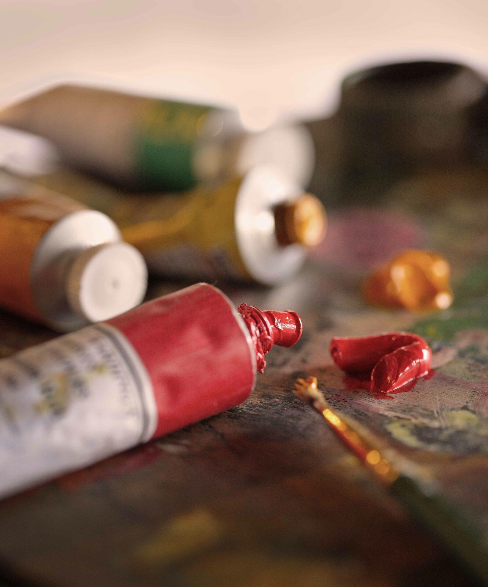 The Artists Studio paints