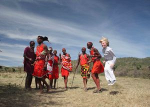 Learning to jump with the Maasai