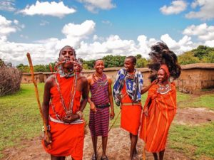 Local Maasai village visit