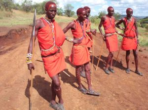 Maasai Moran Warriors