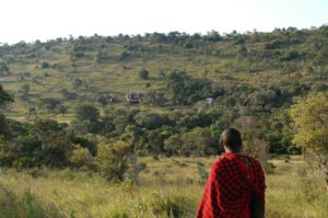 Watching Saruni Mara from Olokirisia valley