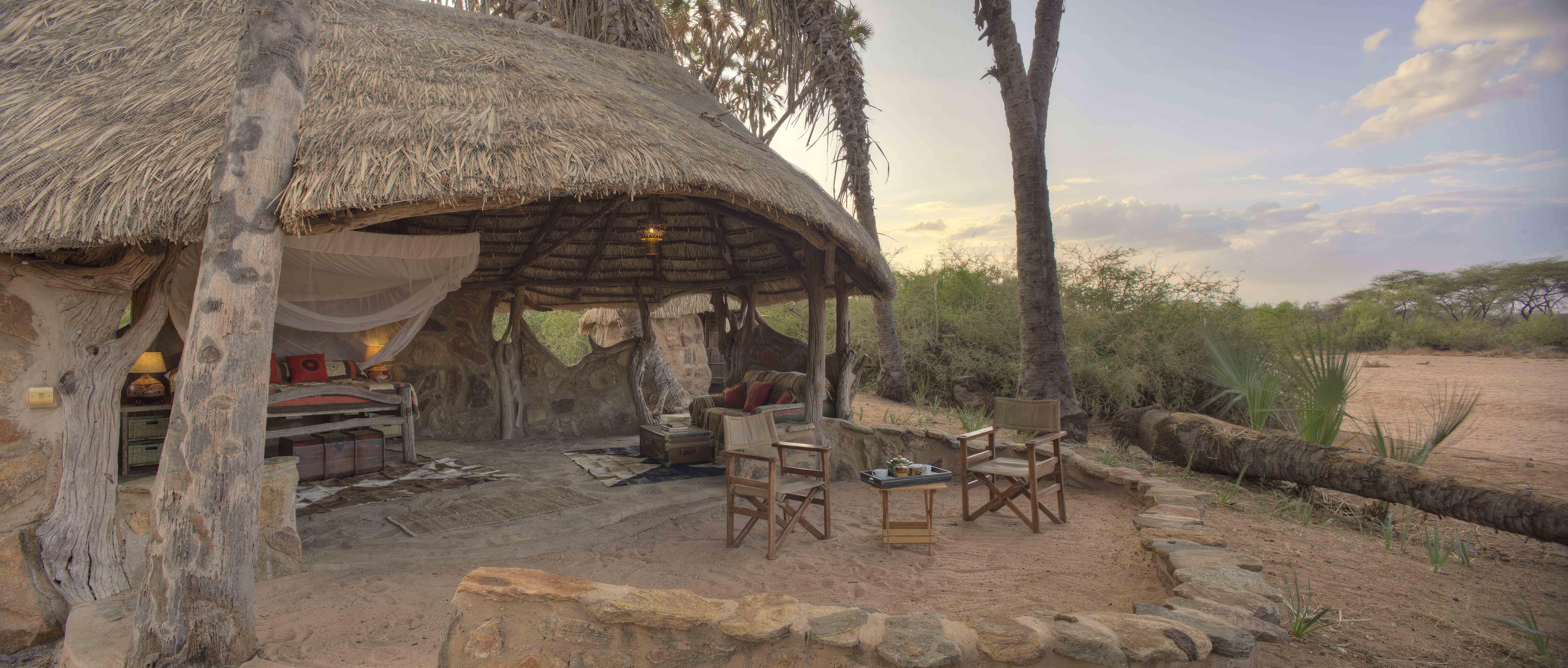 Banda 1 Verandah at Saruni Rhino