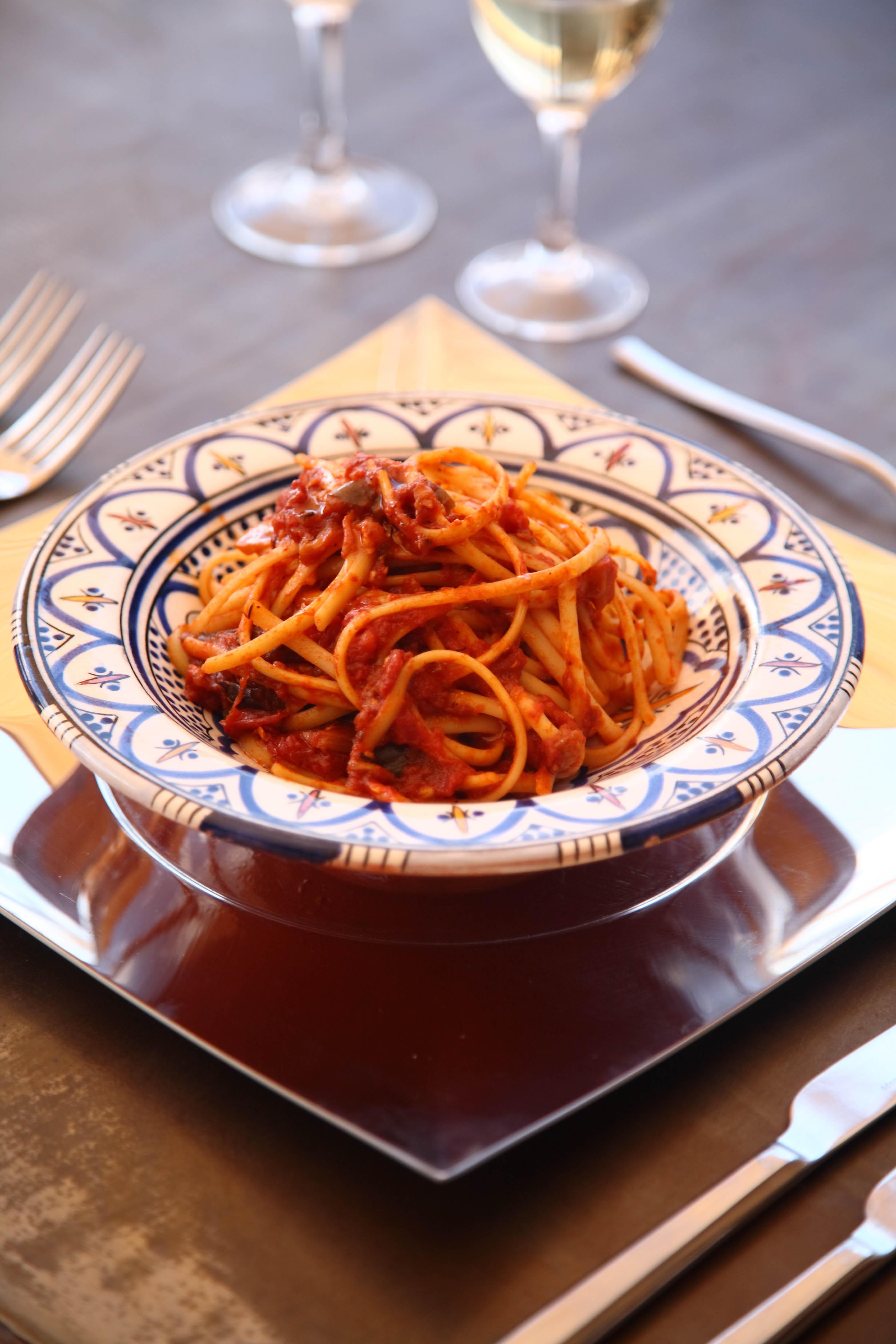 Fresh Italian pastas