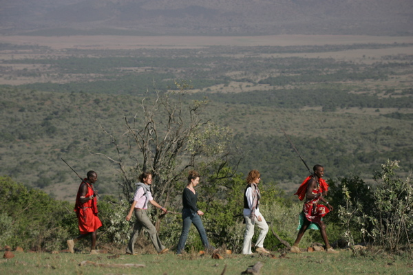 Guided walk with Saruni guides on Mount Ololokwe