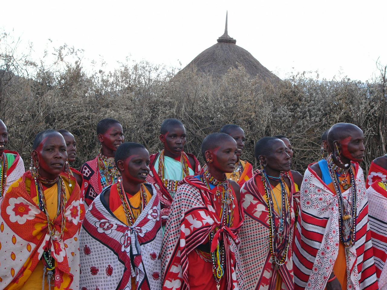 Local Maasai women