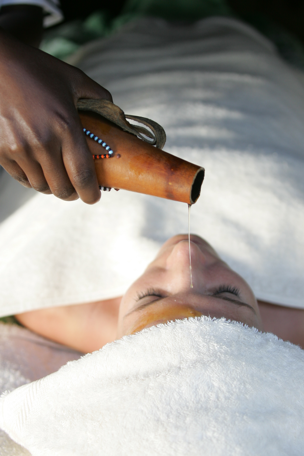 Relax and unwind in Saruni Mara's Spa