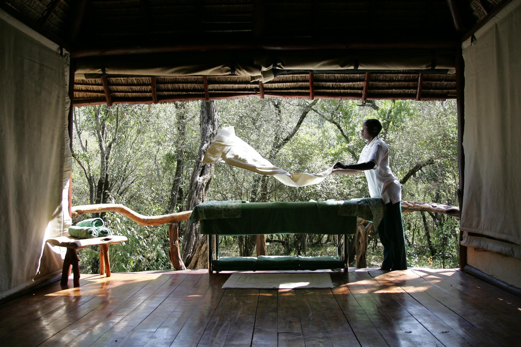 Saruni Mara's Maasai Wellbeing Space
