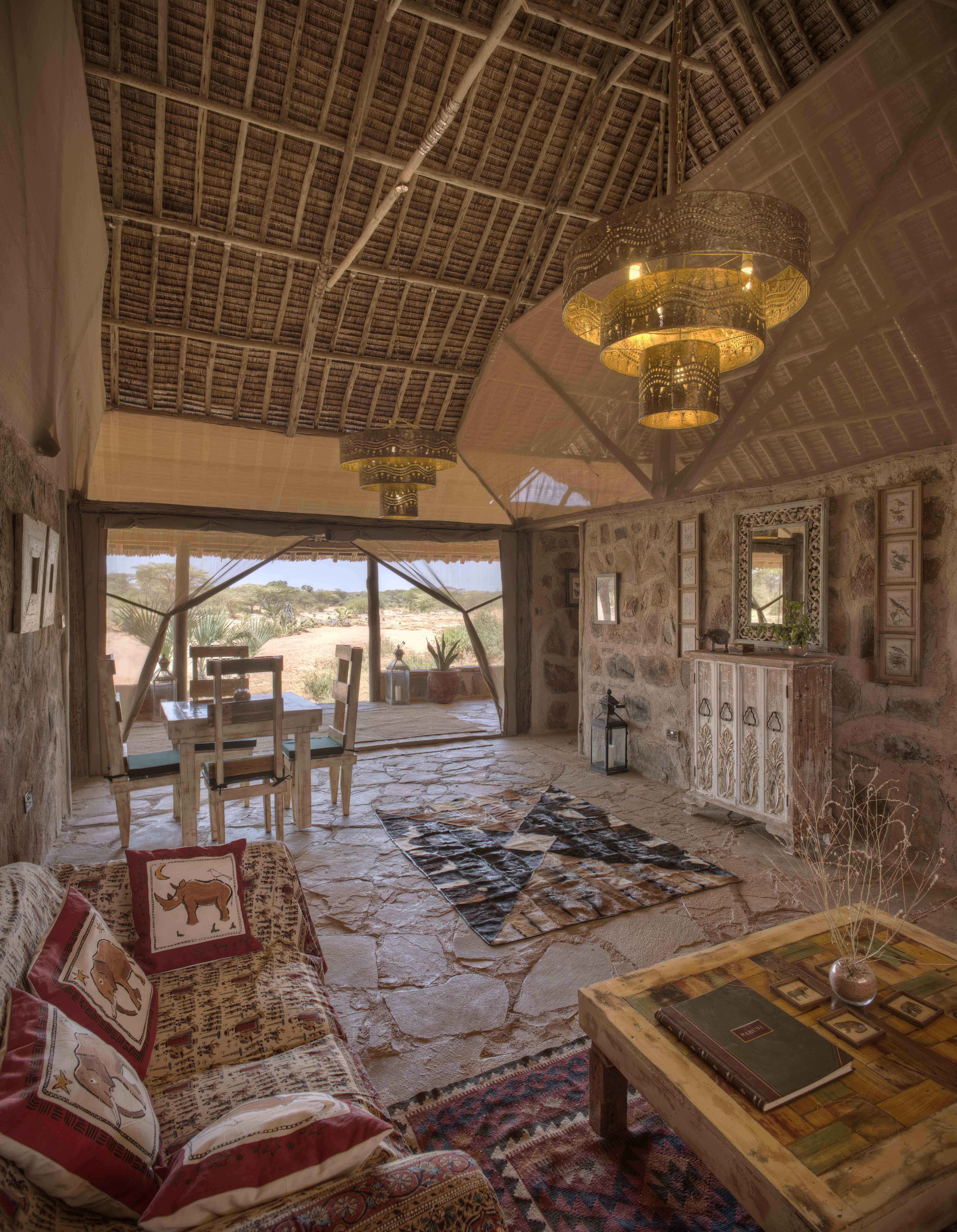 Saruni Rhino Open Lounge