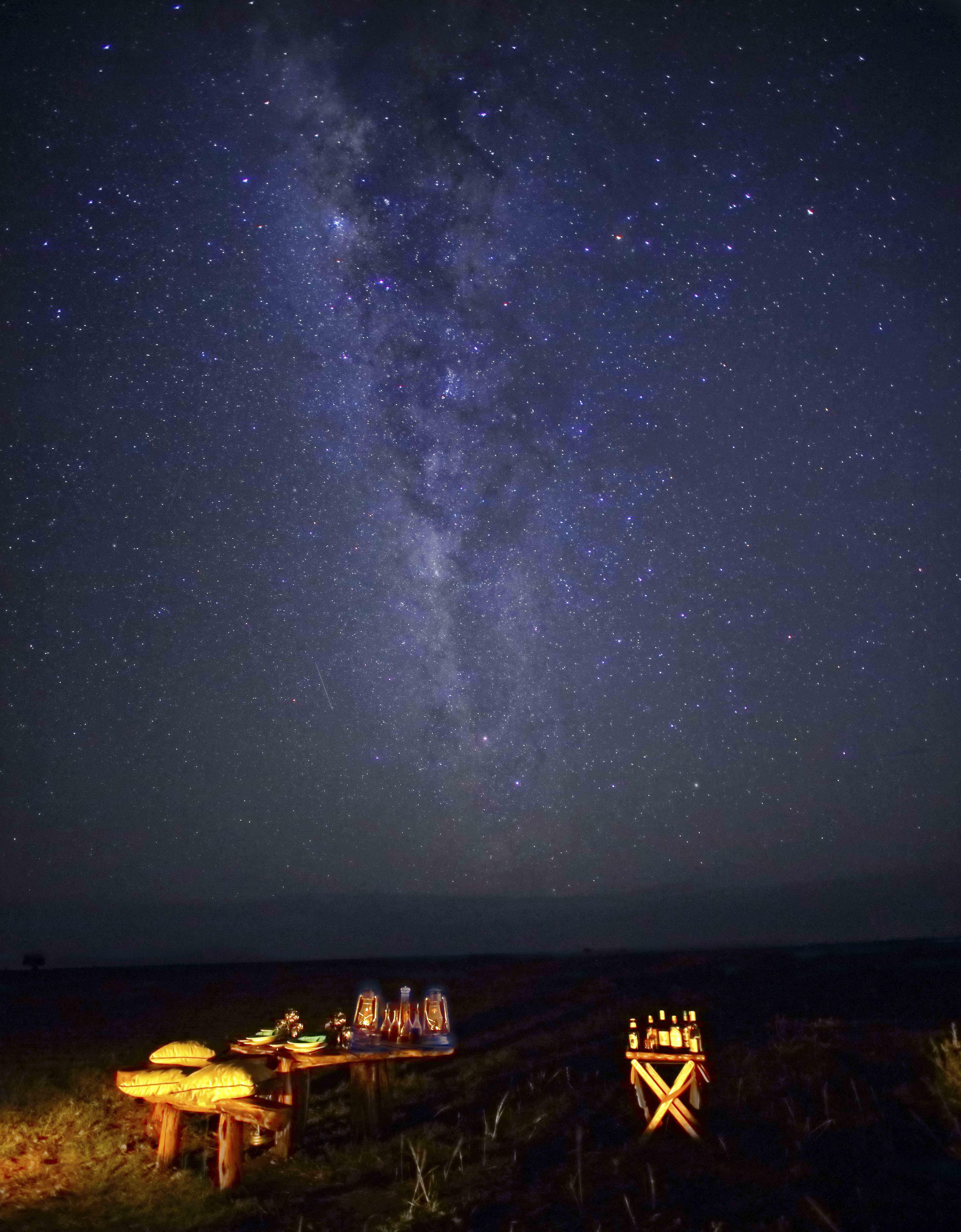 Saruni Wild - Bush dinner and stars gazing