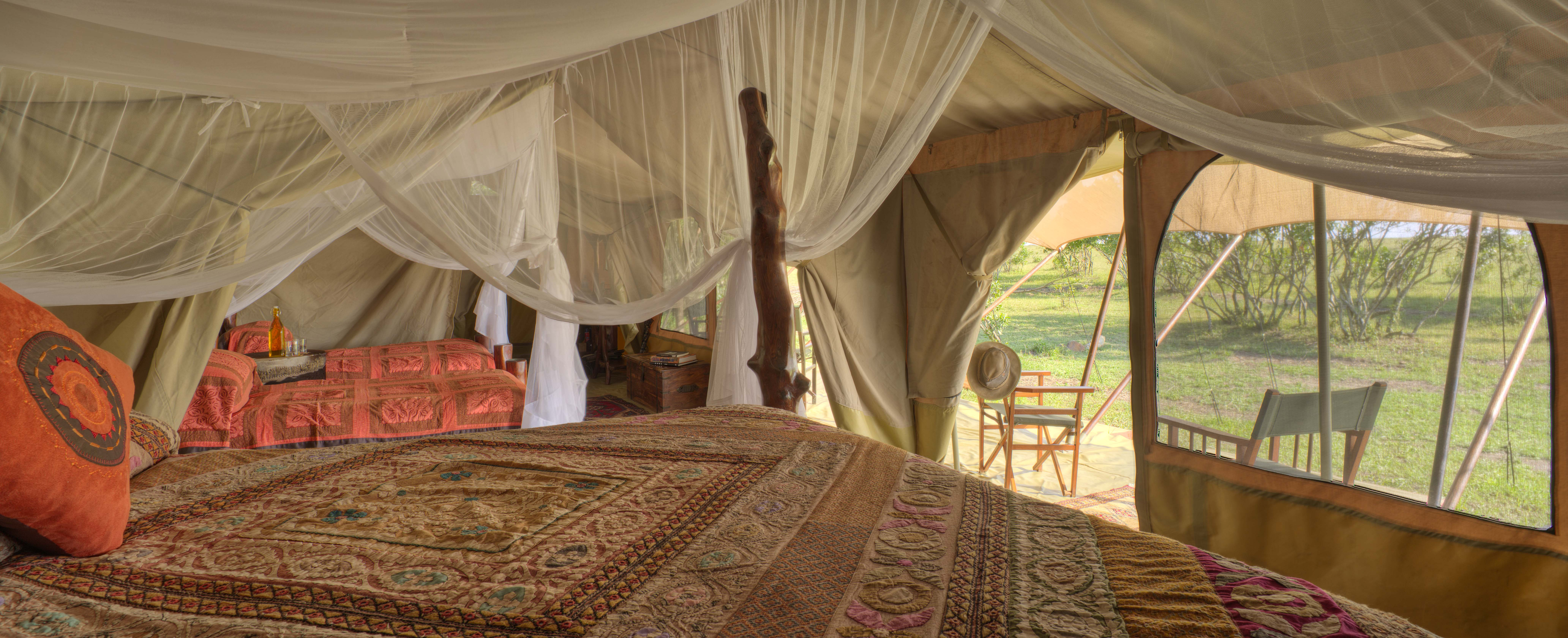 Saruni Wild - the family tent that accommodates 4 people